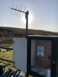 Satellite telemetry supports flood protection in Scotland