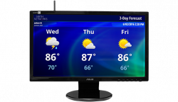 Real-Time HD Weather Display | Earth Networks