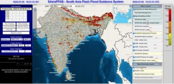 South Asian forecasters are trained in flash floods warnings