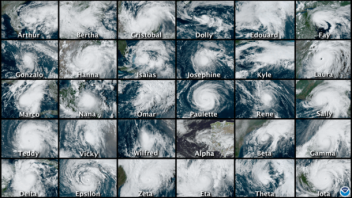 Record-breaking Atlantic hurricane season ends